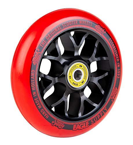 Eagle Supply Rueda para Scooter Individual Standard X6 Core - 110Mm Negro-Rojo (Default, Rojo)