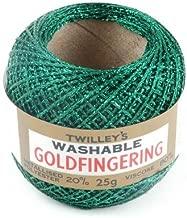 Twilleys of Stamford Goldfingering Knitting & Crochet Yarn 3 Ply 0051 Forest Green - per 25 gram ball