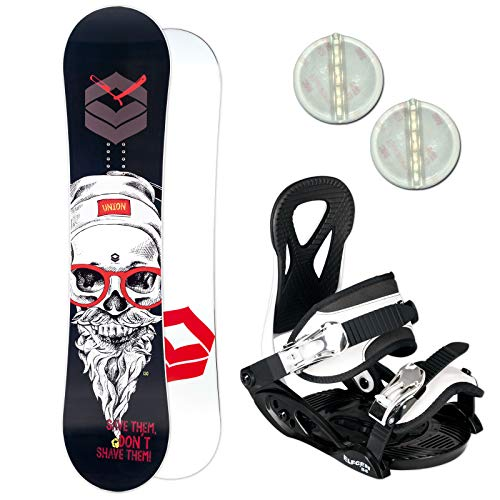 FTWO Union Kinder Snowboard Set 2019~125 cm + ELFGEN JUNIOR BINDUNG + PAD