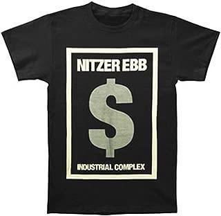 Nitzer Ebb Men's $ Tour T-shirt Large Black