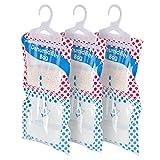 hangerworld 6 sacchetti assorbi umidità da appendere assorbono e catturano umido in casa e nell'armadio
