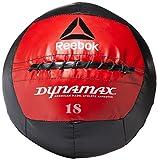 Reebok Dynamax - Balón medicinal de softshell - HHKC5-RE006BK, 6 lbs, Rojo y negro