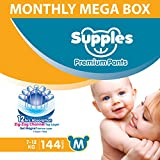 Easy to pull up and remove Upto 12 hours of absorption Made from non woven, soft and breathable material that is gentle on your baby's skin Zig-Zag channel top layer creates a larger absorbing area and helps in uniform liquid distribution. Flexible w...
