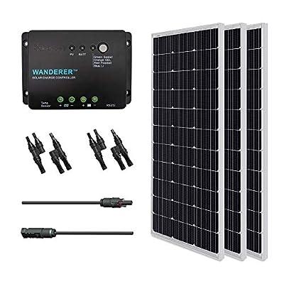 Renogy panel Monocrystalline Solar Bundle Kit, 300 Watt