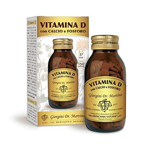 Dr. Giorgini Vitamina D Con Calcio E Fosforo 150 Pastiglie Da 600Mg - 90 Gr