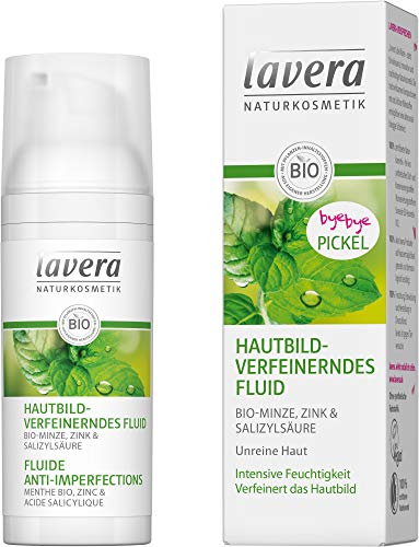 Lavera Bio Hautbildverfeinerndes Fluid Bio-Minze (2 x 50 ml)