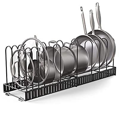 Vdomus Extensible Pot Rack Organizer