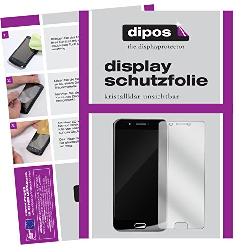 dipos I 6X Schutzfolie klar kompatibel mit YotaPhone 3 Folie Bildschirmschutzfolie (3X Vorder- und 3X Rückseite)