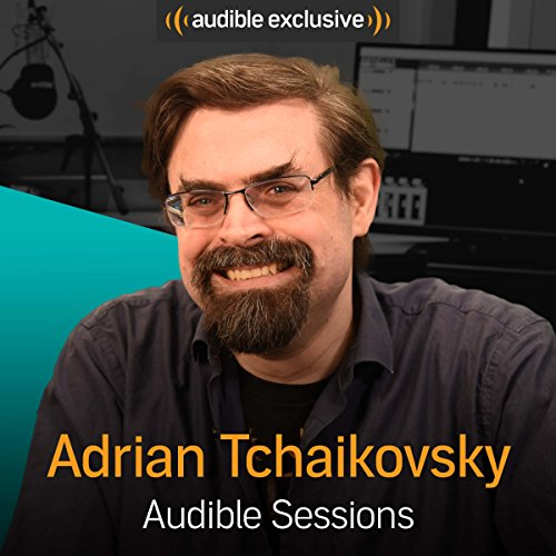Adrian Tchaikovsky audiobook cover art