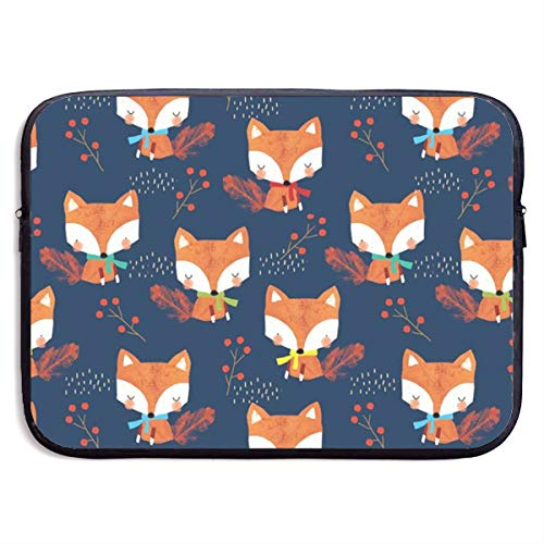 VEGAS Autumn Fox Laptop Sleeve Case Bag Handbag for MacBook/Notebook/Ultrabook - Lightweight Carring Protector for 13 Inch Samsung Sony ASUS Acer Lenovo Dell HP Toshiba Chromebook Computers