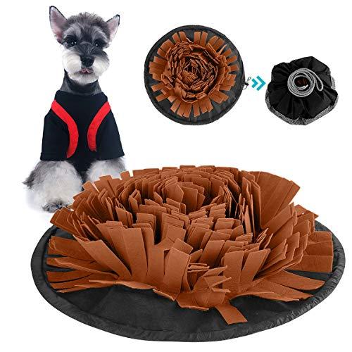 iFCOW Schnüffelmatte für Hunde, Katzen Hunde Futtermatte Trainingsmatte für langsames Füttern waschbar für die Futtersuche