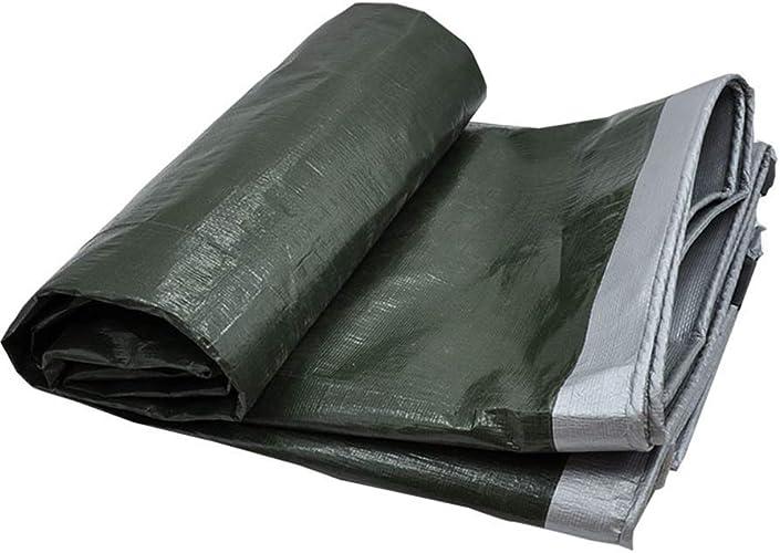 YHUJH Bache imperméable, Tissu en Plastique épais d'auvent de bache d'auvent d'isolation de Prougeection Solaire en Plastique épais imperméable à la Pluie en Plastique épais (Taille   6  10m)