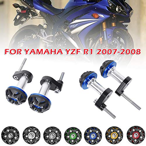 LoraBaber for YAMAHA YZF R1 YZF-R1 YZFR1 2002 2003 02 03 Frame Slider Crash Caps Pads Engine Protection YZF R1 Accessories Black
