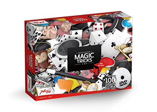 Mistral Enterprise- Professional Magic Trick-Red Box, ME15031