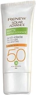 Protetor Solar Renew Ultra Matte FPS50 50ml - Avon