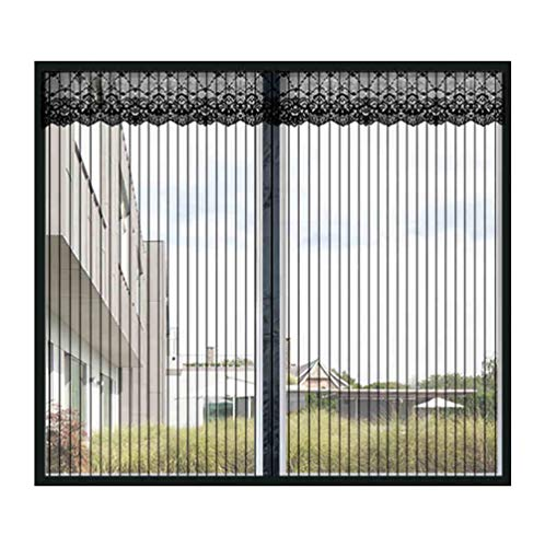 Mosquiteras para Ventanas De Aluminio,Standard Malla Protección Anti Insectos,Magnetica Enrollable con Persiana,A...