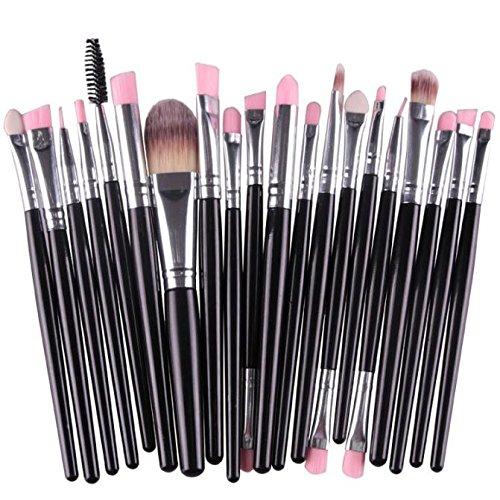 20 Pinceaux De Maquillage Rawdah 20pcs/set Makeup Brush Set tools Make-up Toiletry Kit Wool Make Up Brush Set