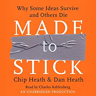 Made to Stick audiobook cover art