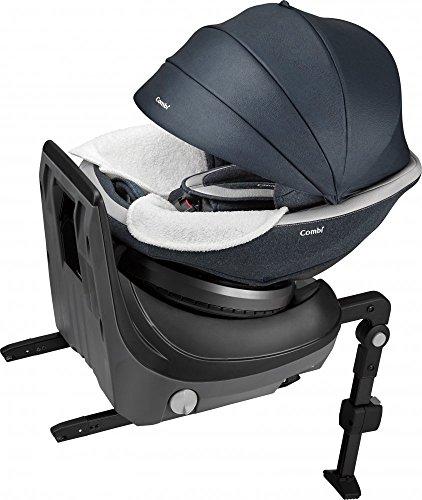 コンビ ホワイトレーベル チャイルドシート クルムーヴ スマート ISOFIX エッグショック JJ-800 ネイビー