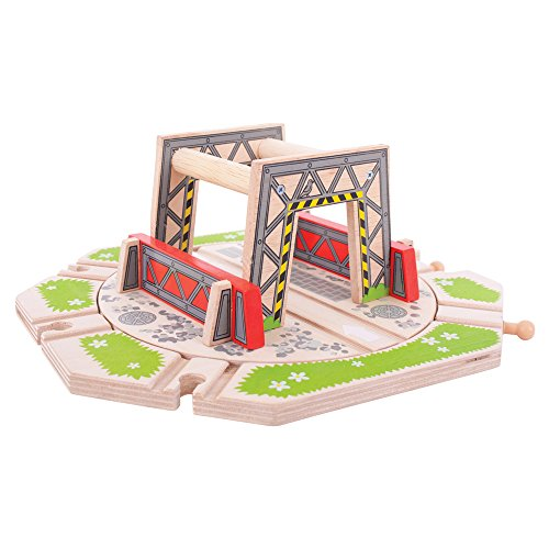 Bigjigs Rail Industrial Turntable for Train Set