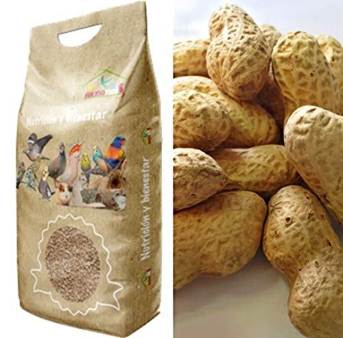 Faunamix Cacahuetes con cáscara crudos (2 kg)