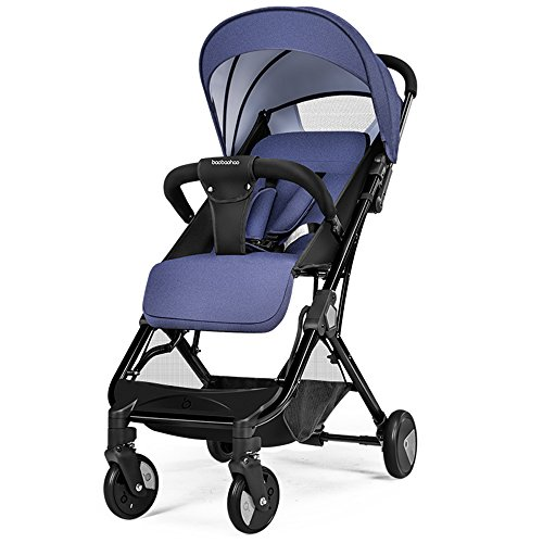 Best Review Of Goquik 4-Wheel Stroller Foldable Stroller Seated Reclining Portable Baby Stroller (Co...