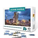 Puzzle da 1000 pezzi per adulti-Grand Lisboa Hotel, Macao, Cina-Giocattoli educativi in legno Regalo fai-da-te Divertimento in famiglia Puzzle 75x50 cm