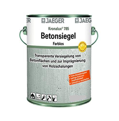 Jaeger Kronalux Betonsiegel, zur Imprägnierung und Versiegelung, farblos 750ml