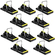Authenzo Mouse Traps Indoor Mouse Trap Mice Traps for House Mouse Traps No See Kill 10 Packs