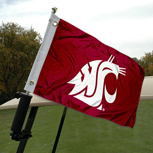 College Flags & Banners Co. Washington State University Golf Cart and Boat Flag