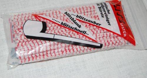 Blitz - Scovolini Per La Pulizia Della Pipa, Colore: Rosso/Bianco 80 PZ