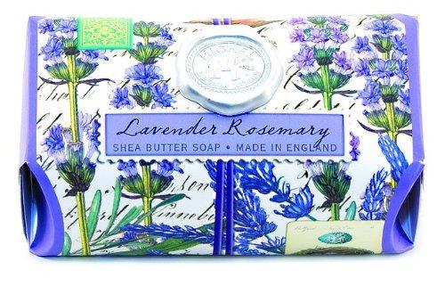 Michel Design Works Large Bath Soap Bar, Lavender Rosemary