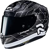 Casque moto HJC RPHA 11 IANNONE 29 REPLICA BLACK MC5SF, Noir/Blanc, M
