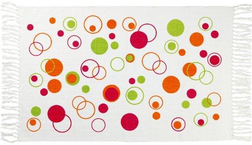 Gelco Design 707590 Tapis de Bain Bubble Rose 50 x 80 cm