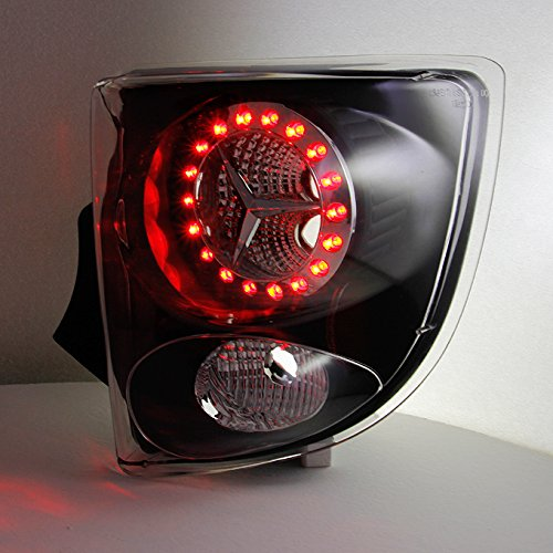 For Toyota Celica 2Dr Coupe LED Style Black Tail Lights Brake Lamps Replacement Left + Right Pair Set