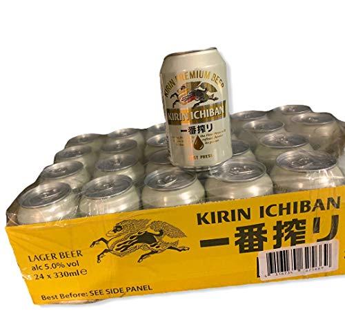 24 Dosen japanisches Lager Bier KIRIN ICHIBAN Beer 0,33l inkl. 6 EUR Pfand