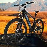 Bicicleta Eléctrica para Adultos Bicicleta Eléctrica E-MTB 27,5' Batería Litio 36V 10Ah Bicicleta Eléctrica Urbana Compañero Fiable para el día a día