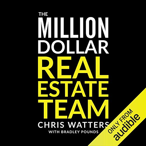 The Million Dollar Real Estate Team audiobook cover art