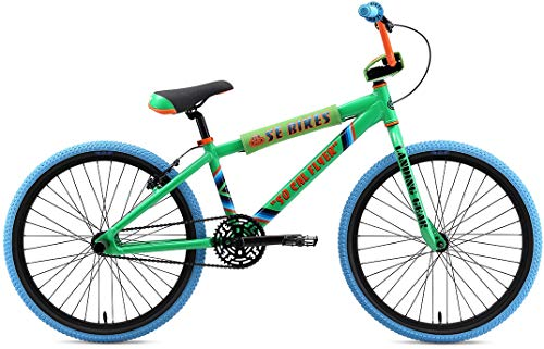 Find Discount SE So Cal Flyer 24 BMX Bike Green Mens Sz 24in