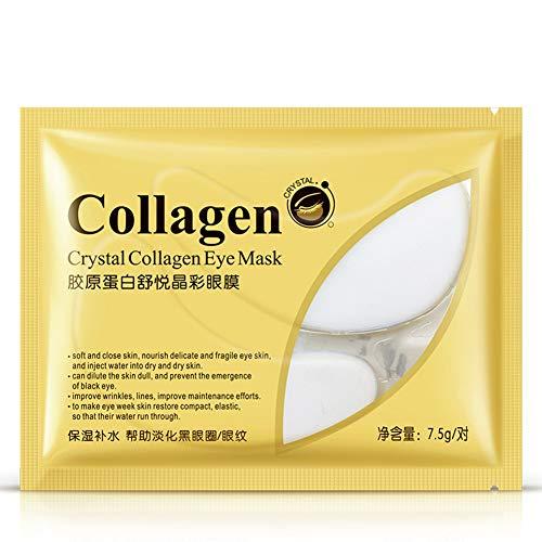 Crystal Collagen Gel Eye Mask Moisturizing Remove Dark Circles Anti Puffiness Anti Wrinkles Eye Patch