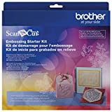 Brother ScanNCut Embossing Starter Kit CAEBSKIT1, Accessory Set with Mat, Tools, Metal Sheets and 50 Embossing...