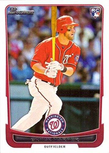 2012 Bowman Draft Baseball #10 Bryce Harper Rookie Card