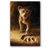 Cqzk Der König der Löwen Movie Poster Wandkunst