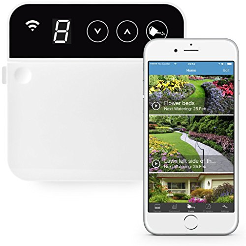 RainMachine Mini-8, Cloud Independent, The Forecast Sprinkler, Wi-Fi Irrigation Controller