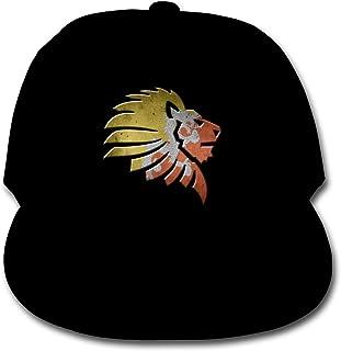 Bonshion Sombrero Ajustable del Camionero de Las Gorras de béisbol del Color sólido de la Bandera de Bhután para el Negro de la Muchacha del Muchacho
