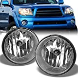 For 05-11 Toyota Tacoma Pickup Bumper Fog Lights Driving Lamps Set w/Bulbs + Wiring Harness + Switch