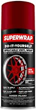 Superwrap Sprayable Vinyl Wrap for Wheels & Accessories - 11oz Spray Can/Paint - Gloss Series - Maranello Red