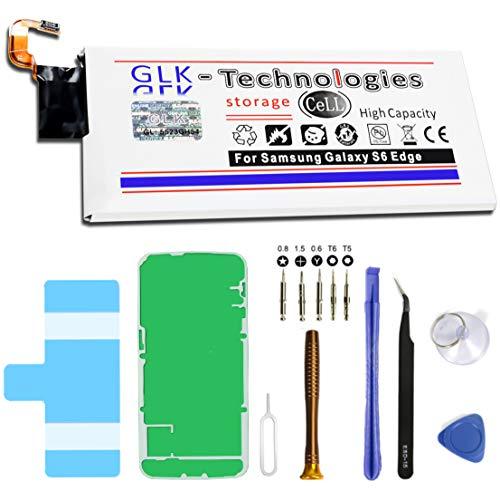 GLK-Technologies Batería de repuesto para Samsung Galaxy S6 Edge SM-G925F/EB-BG925ABE, batería original, batería de 2800 mAh, incluye juego de herramientas