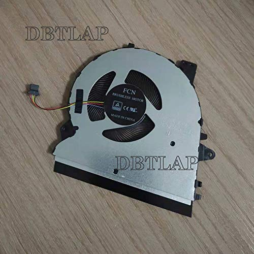 DBTLAP CPU Fan Compatibile per ASUS ZENBOOK UX431F UX431FA Ventilatore