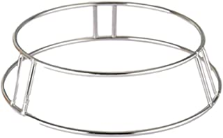 Wok Ring/Double Solid Pot Rack/Chrome Steel Wire Wok Rack Insulated Pot Mats Cookware Ring/Wok accessories